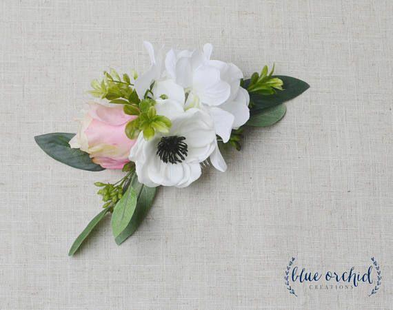Flower hair comb wedding hair comb silk flower hair comb blue flower hair comb wedding hair comb silk flower hair comb mightylinksfo