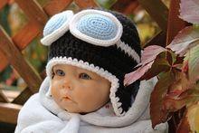 Kostenlose Häkelanleitung Für Aviator Babymütze Baby Hats 5