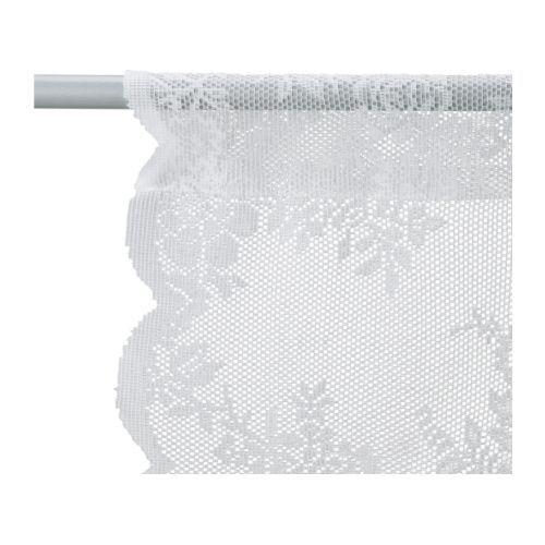 Alvine spets tenda a rete 2 teli bianco sporco tools i - Tende colorate ikea ...