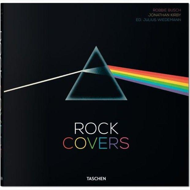 Livro reúne as maiores capas de discos do rock
