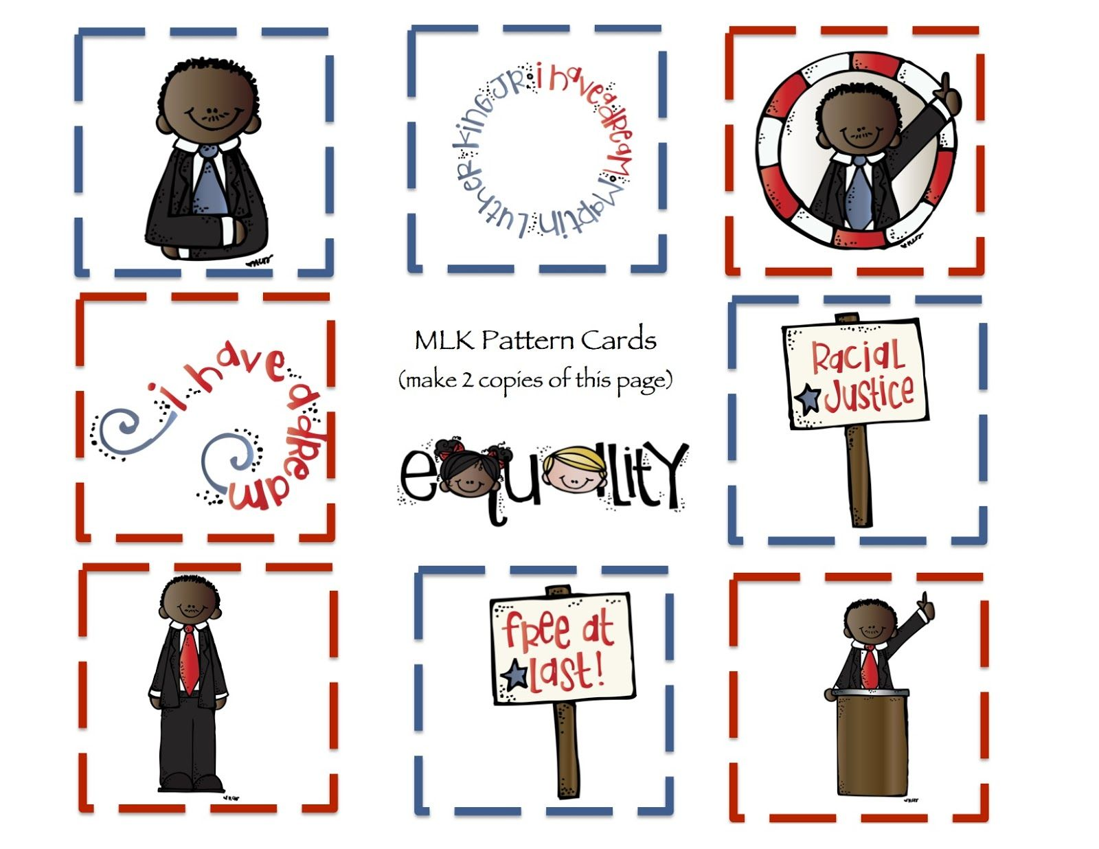 Free Preschool Printables Martin Luther King Printable