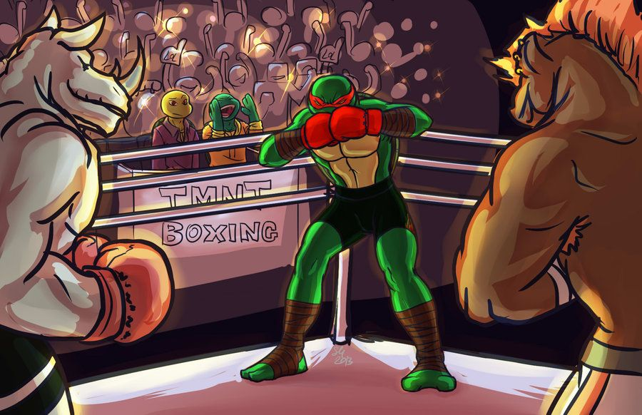 Tmnt A Lesson In Boxing Meet the Nightwatcher by ~Dragona15