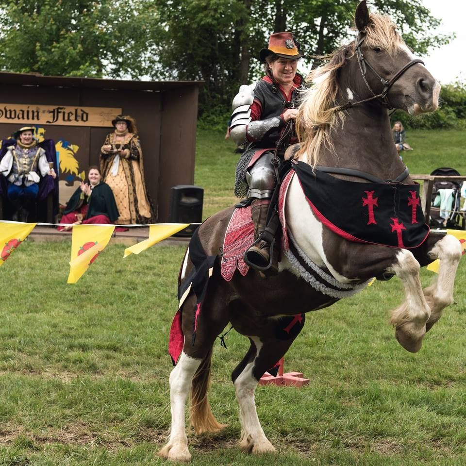 You won't want to miss the exciting shows at the 2019  NJRenfaire. #njrenfaire #horseplay #renaissancefestival #vikingcosplay #jousting #festival #faire #burlingtoncounty #njrf #libertylake #ilovenj #medevilgames #horsesaremagical #games #winnertakeall #awesomecosplay