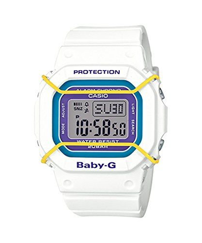 f21573ec0ceb5 Casio BabyG Digital Dial White Resin Quartz Ladies Watch BGD5017BCR     Learn more by visiting the image link.Note It is affiliate link to Amazon.