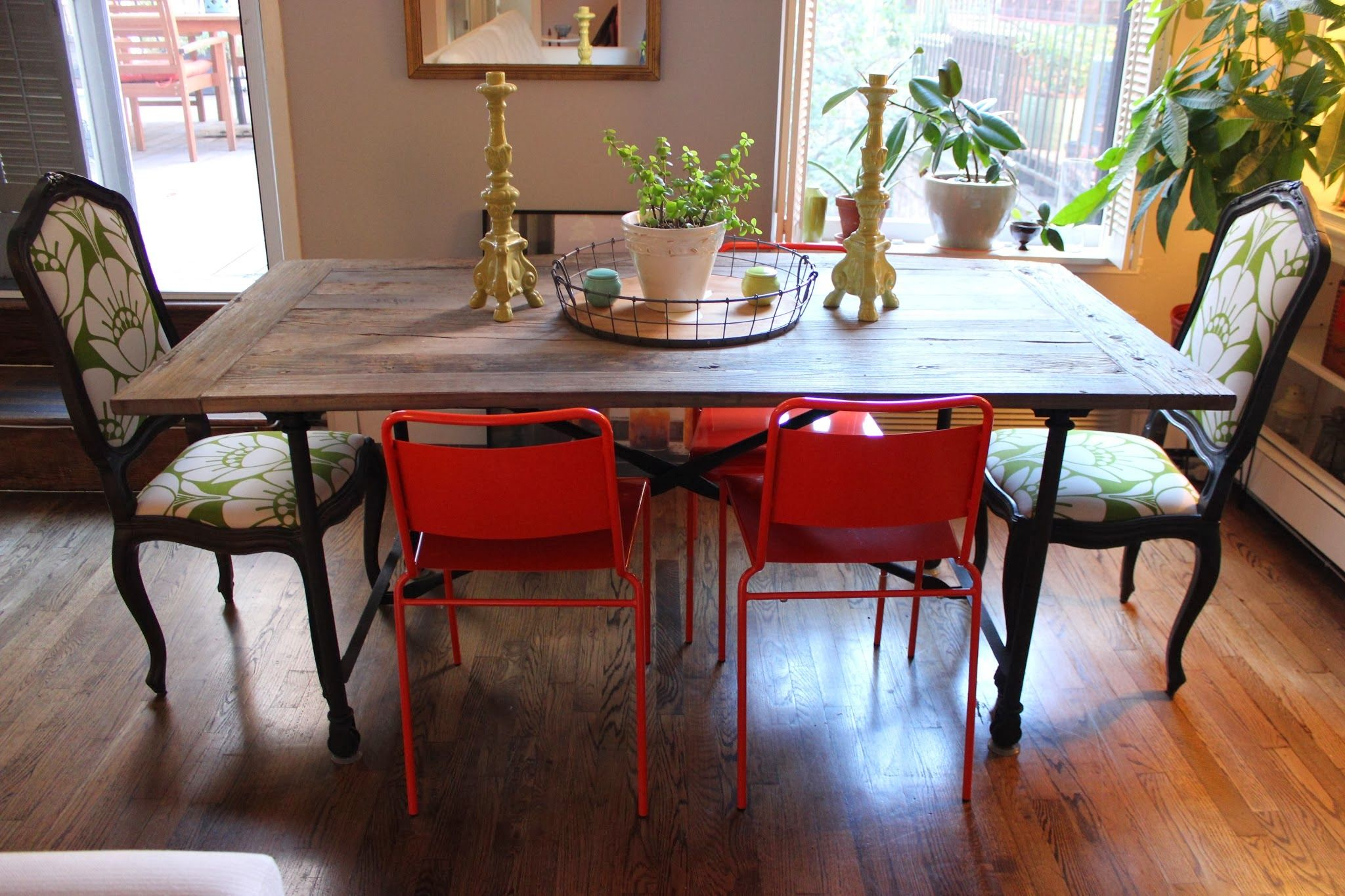 Dining tables made from old doors images google search projects