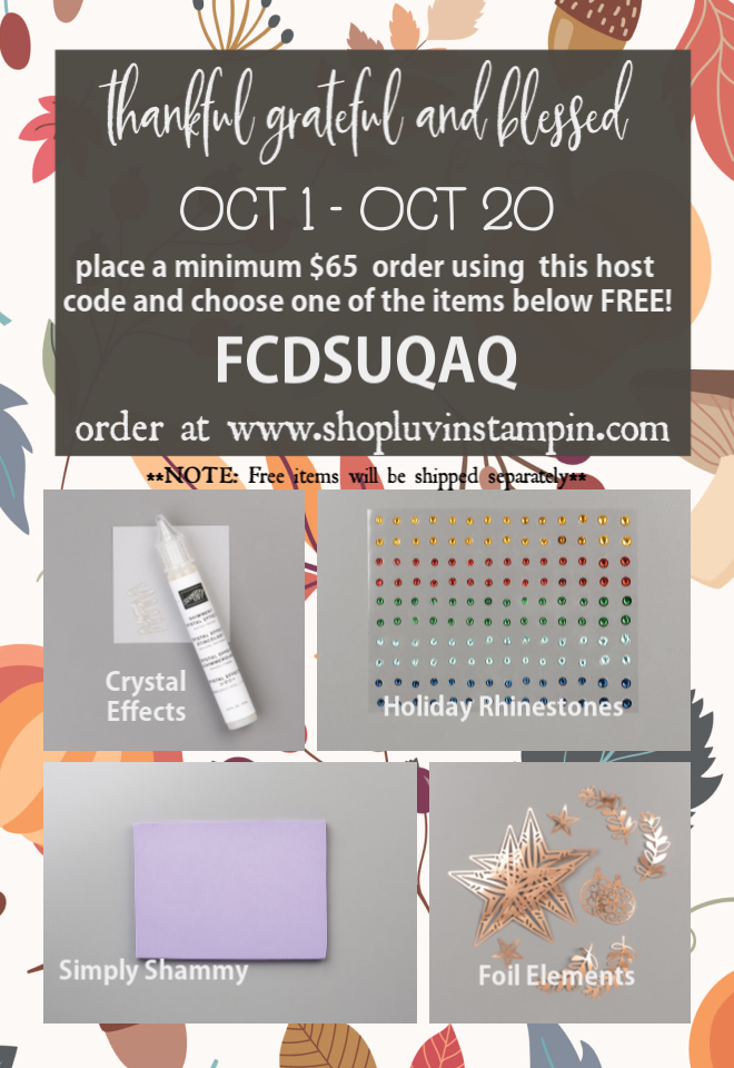 October Special, National Coffee Day & Luvin' Stampin