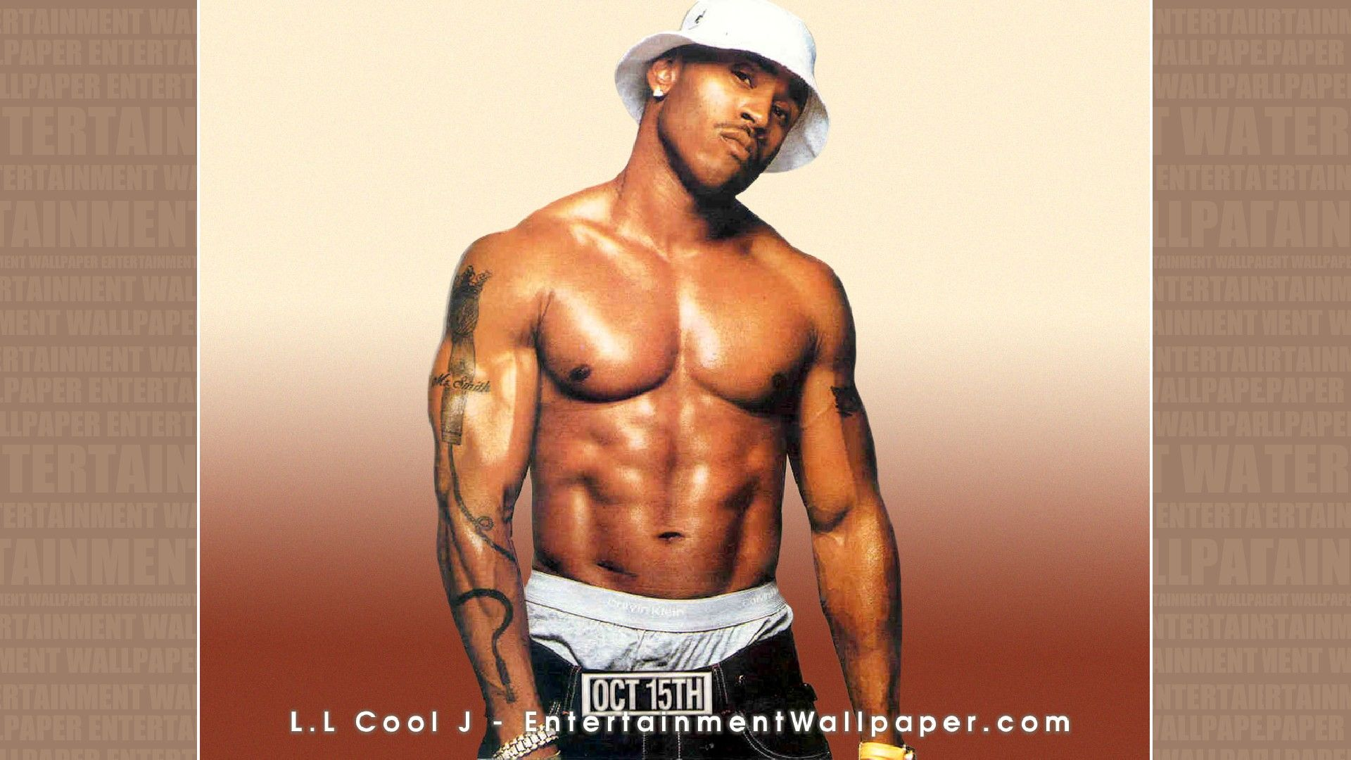 Amazon.com : Rapper and Music Star LL Cool J Shirtless