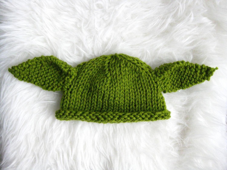 Baby Yoda Knit Hat (with Free Pattern) | Pinterest