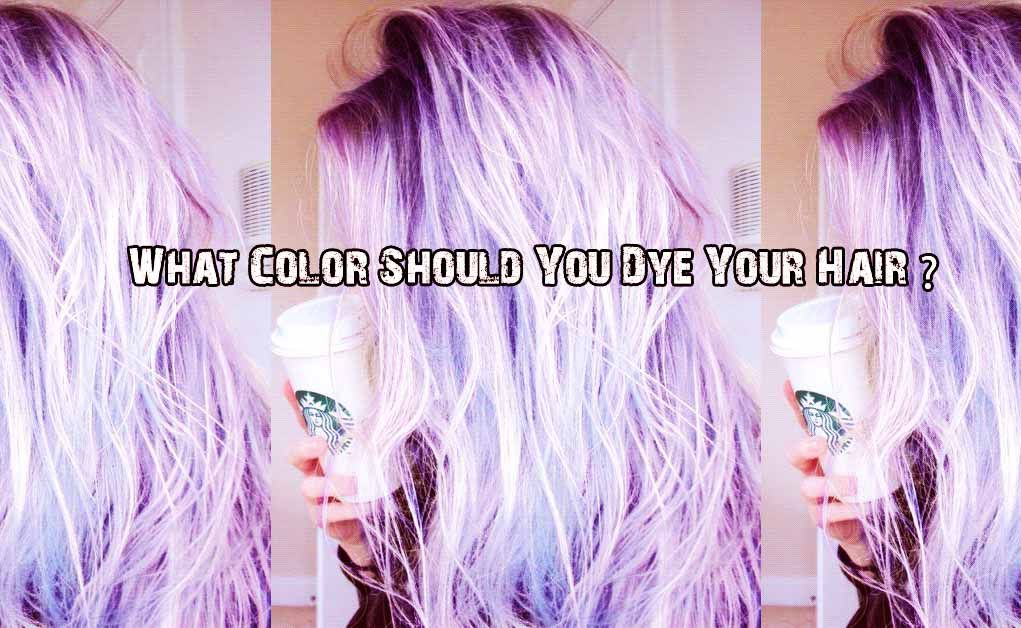 What Color Should You Dye Your Hair The Emo Galaxy Pinterest