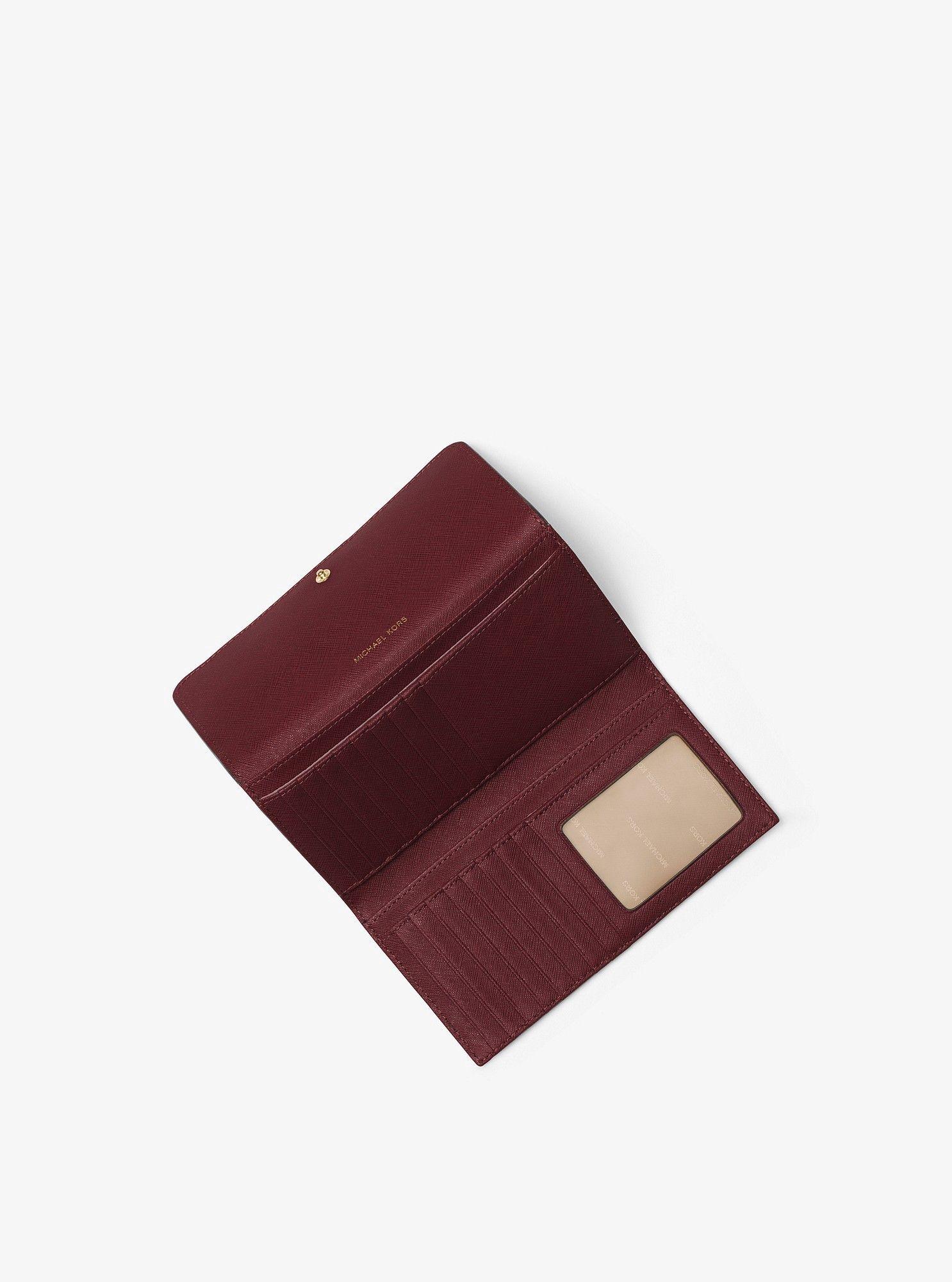 25980cc72642 Michael Kors Mercer Tri-Fold Leather Wallet - Acorn | Products