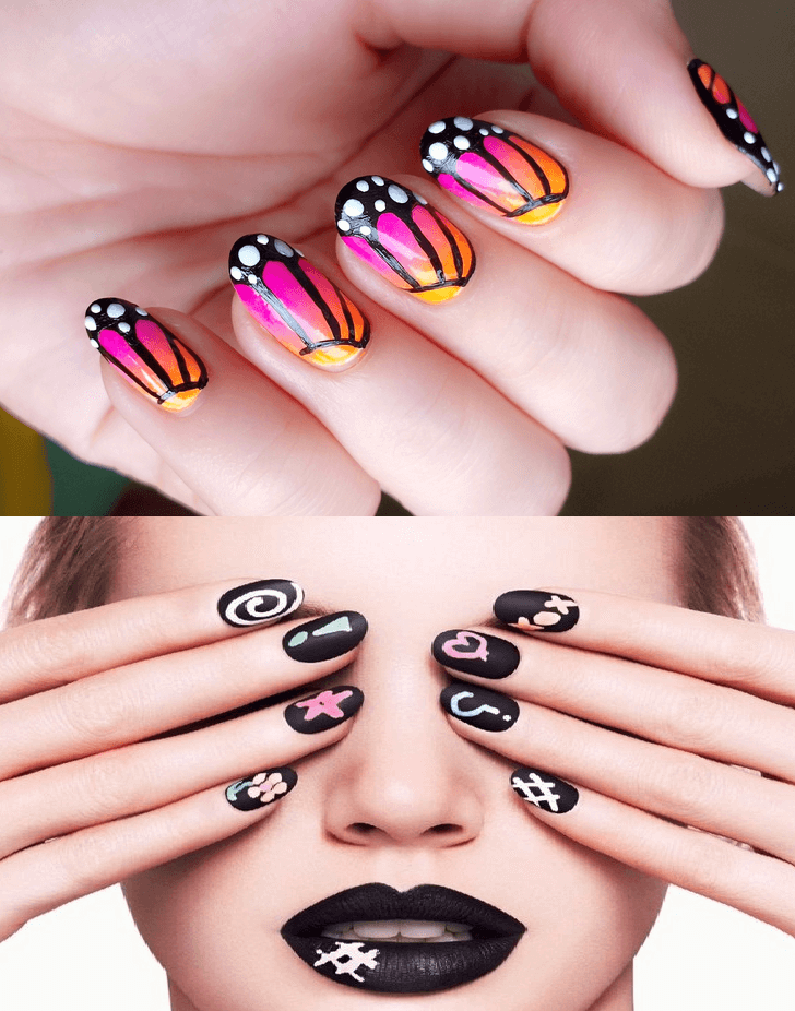Easy Nail Art Designs For Short Nails Do At Homeep By Step