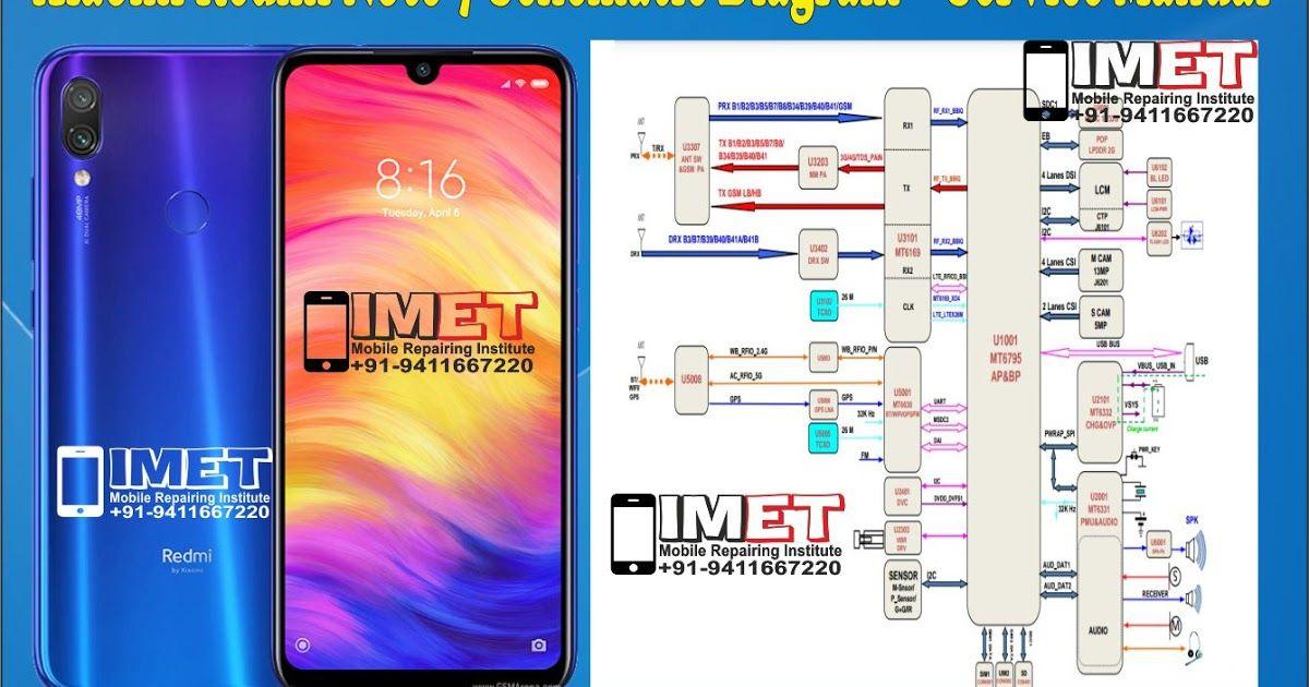 Xiaomi Redmi Note 7 Schematic Diagram Service Manual