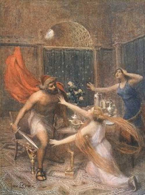 odysseus relationship with circe