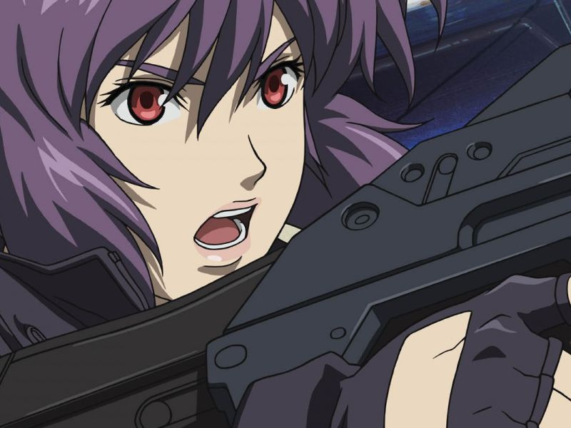 netflix is producing its own anime the hyped geek anime fight like a girl motoko kusanagi