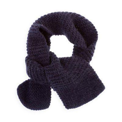 echarpe point mousse tricot kids fashion fashion et style. Black Bedroom Furniture Sets. Home Design Ideas