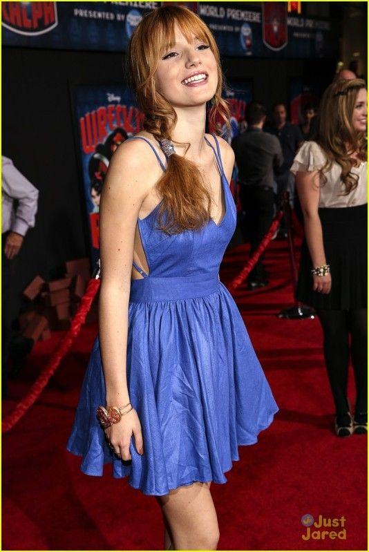 bella thorne wreck it ralph premiere | ... - Bella Thorne: blue ...