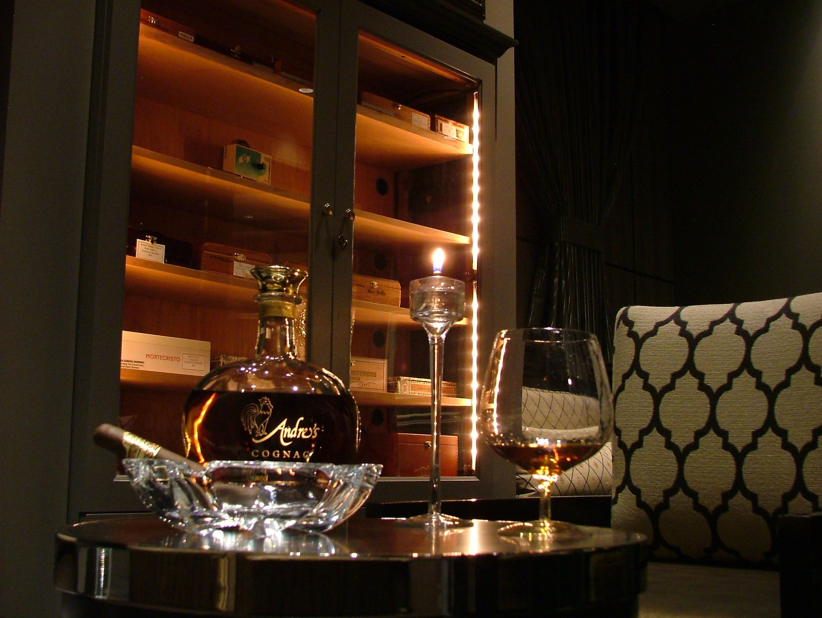 andres cigar  cognac lounge  Google Search  Casino