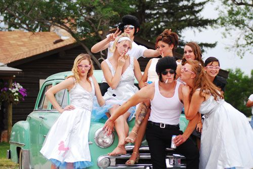 grease wedding Costume Party Wedding Ideas Pinterest The o