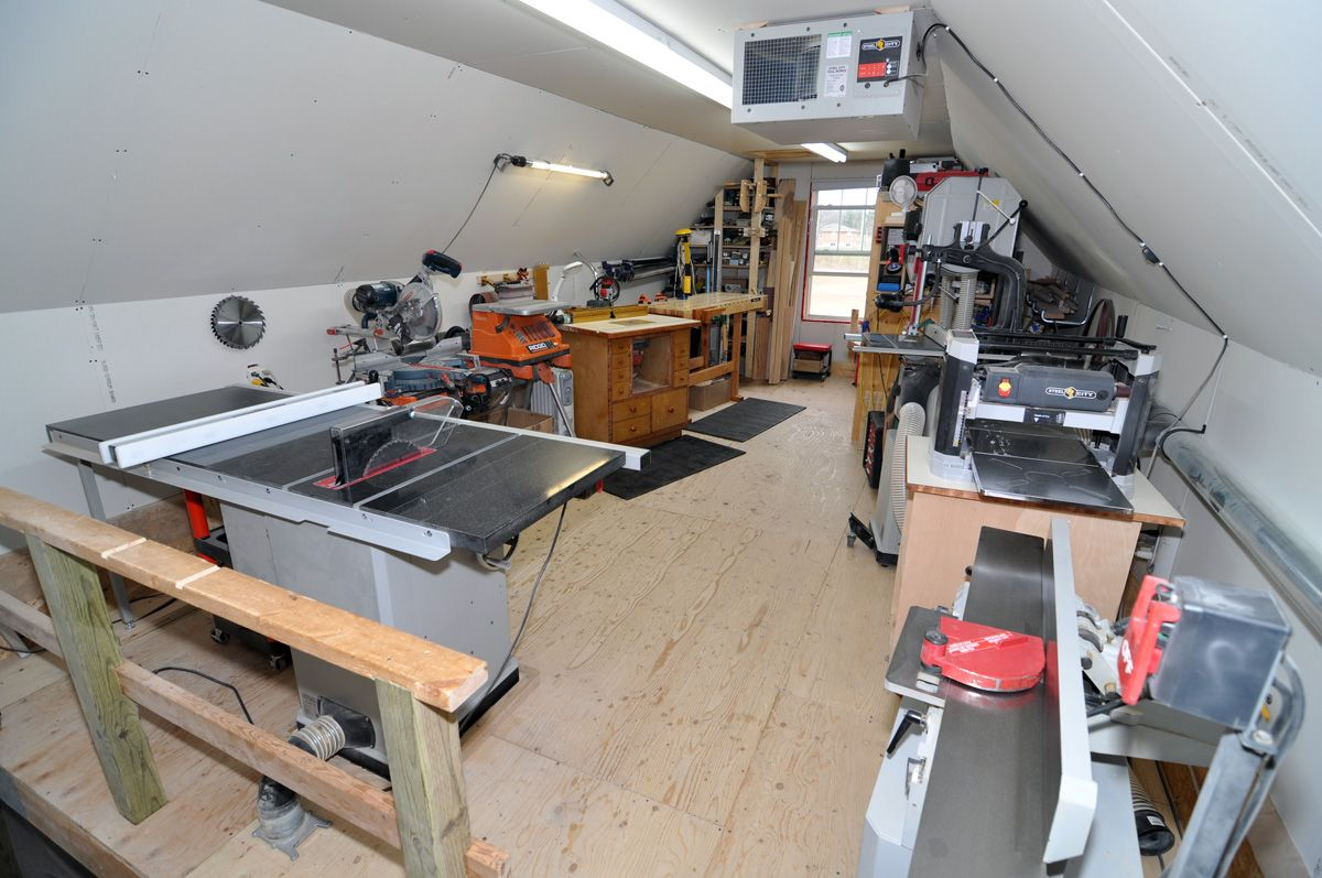 Small Garage Woodworking Shop My Woodshop Woodworking Shop