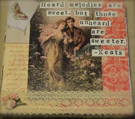 RESERVED for Magswheels 2002 John Keats by JaneAustenInspired