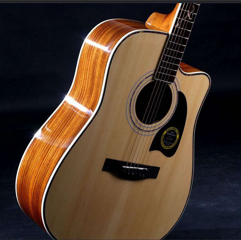 41 27 High Quality Guitars 41 Inch High Quality Acoustic Guitar Rosewood Fingerboard Guitarra With Guitar Strings Guitar Acoustic Guitar Acoustic