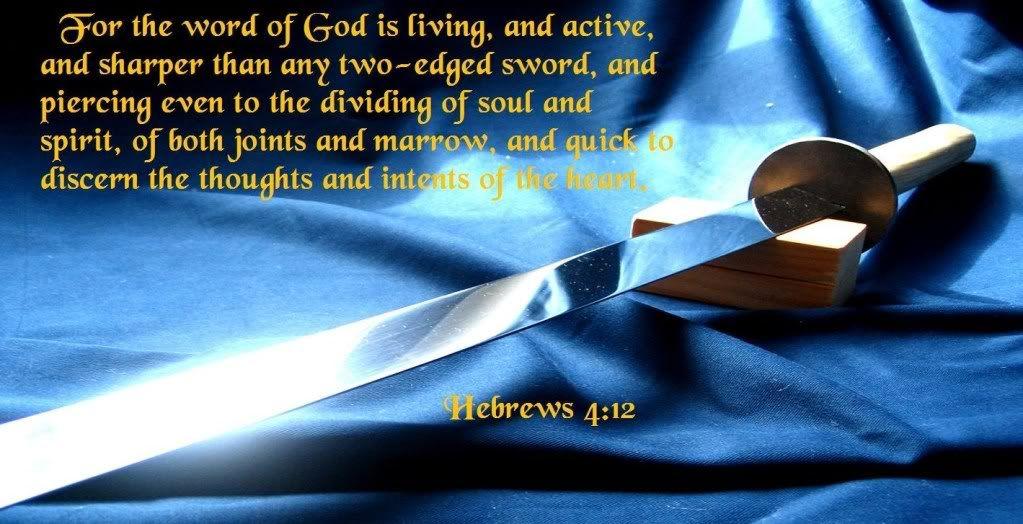 hebrews 4:12 | hebrews 4 12 | KoG | Word of god, Scripture