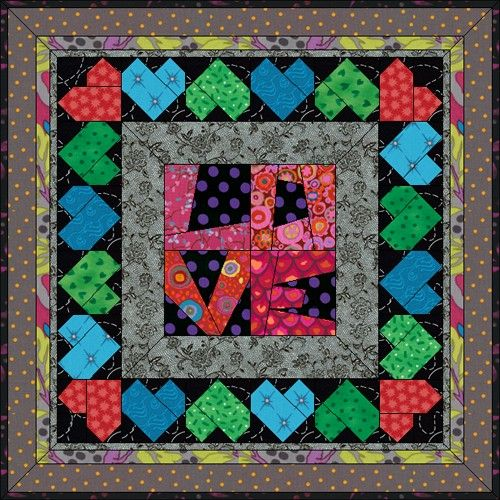 Awesome Amore   Heart, Valentines and Quilt designs : quilt design wizard - Adamdwight.com