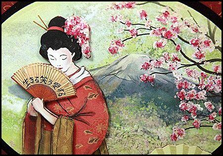 Oriental Blossoms-Flower Soft