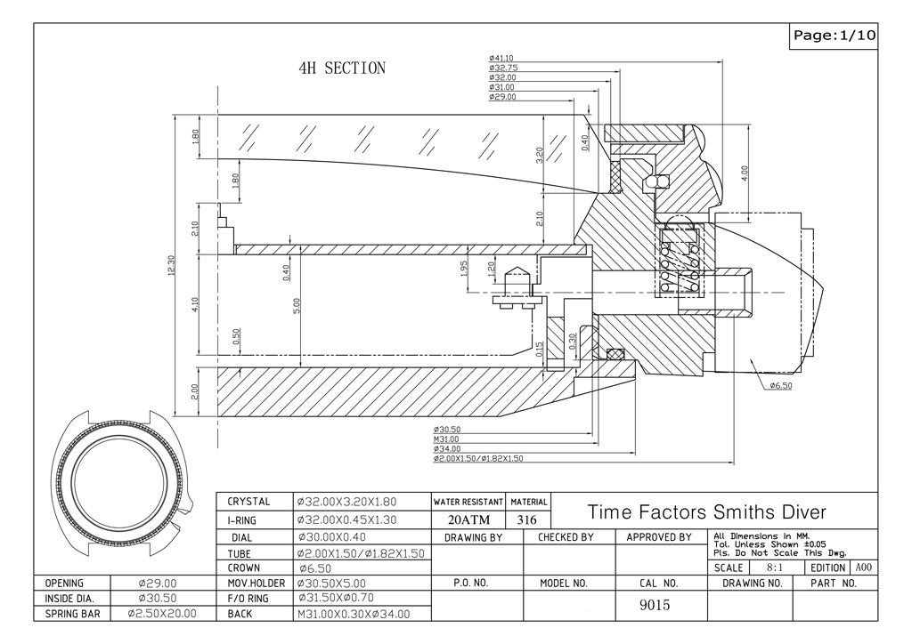Learn to read technical drawings