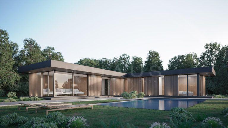 Vivienda Prefabricada De Diseno Toledo 3d 1p 2 154 Inhaus Vivienda Prefabricada Estilo En El Hogar Casas