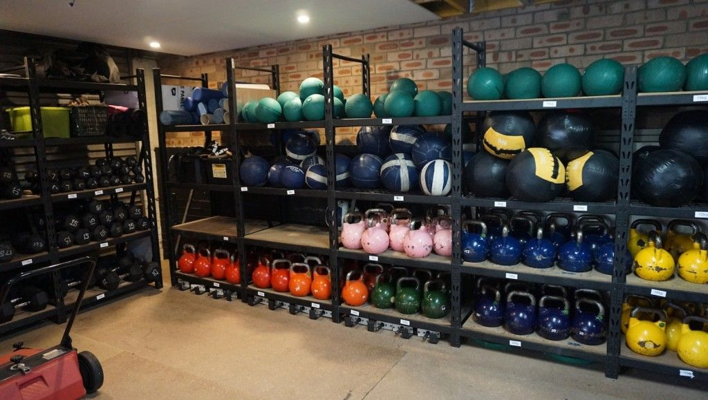 Marvelous Gym Storage