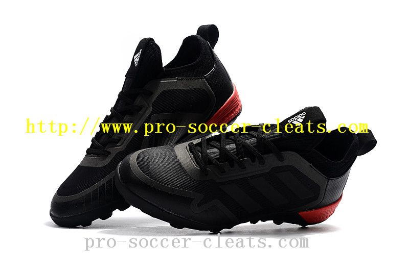 newest collection 8862c 2e006 Customize Your Own Adidas ACE Tango 17+ Purecontrol TF Soccer Cleats - Black  Red