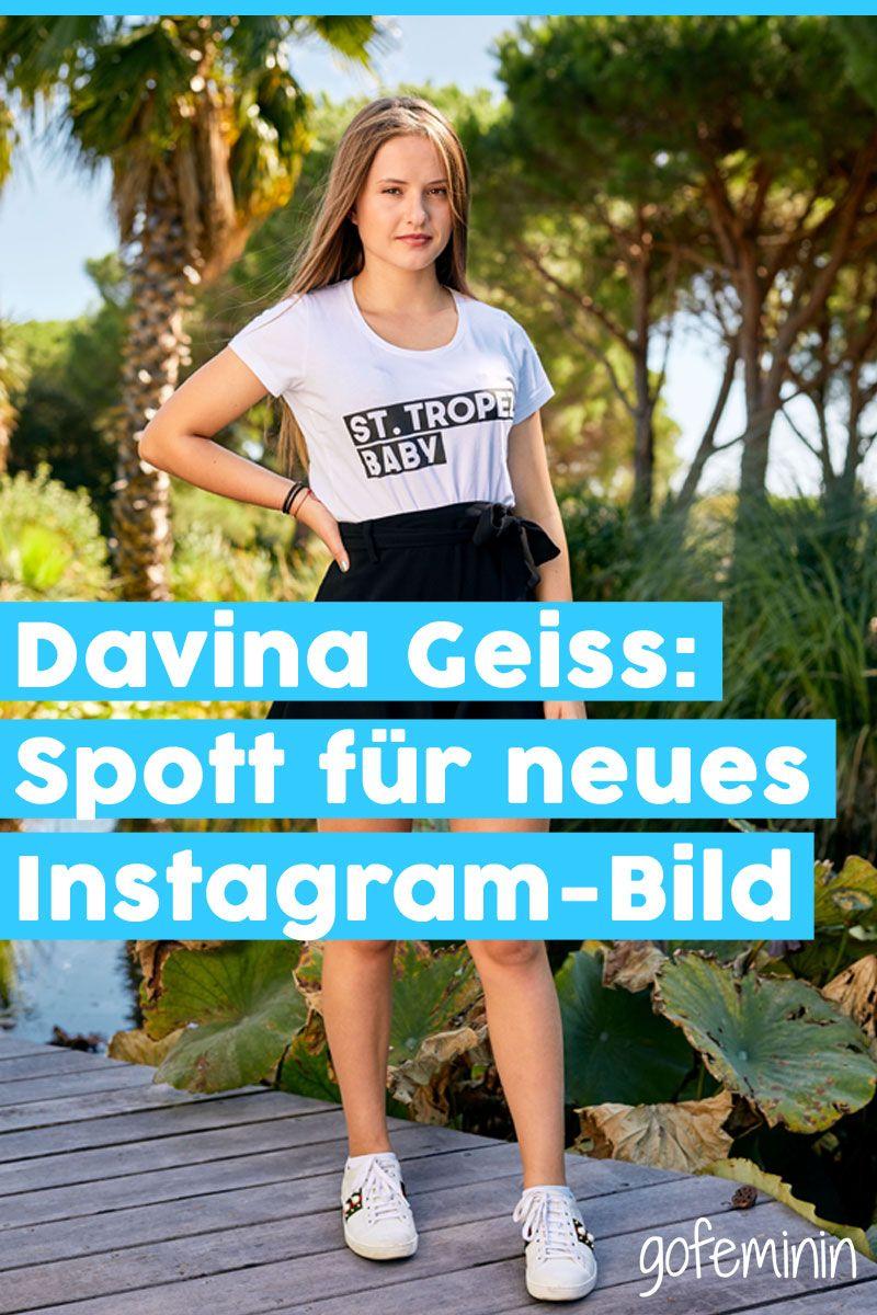 Davina Geiss: Für dieses Bild wird sie im Netz ausgelacht