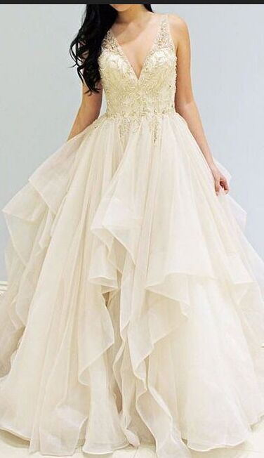 Charming Prom Dresses,Simple Cheap Prom Dresses, Ball Gown Prom ...