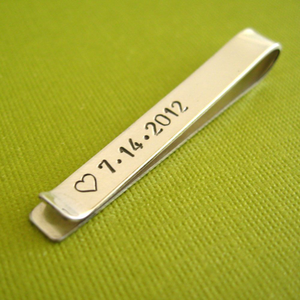 Tie clip wedding favors and gifts pinterest tie clip