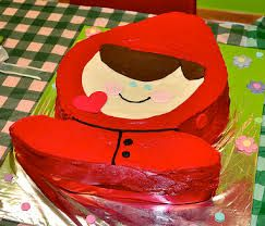 Image result for red riding hood cake