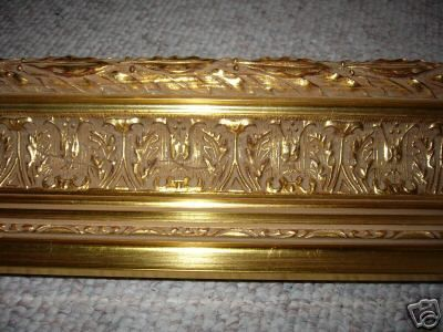 Picture Frame Moulding Huge Gold Leaf Ornate Picture Frame Molding Ornate Frame Ornate
