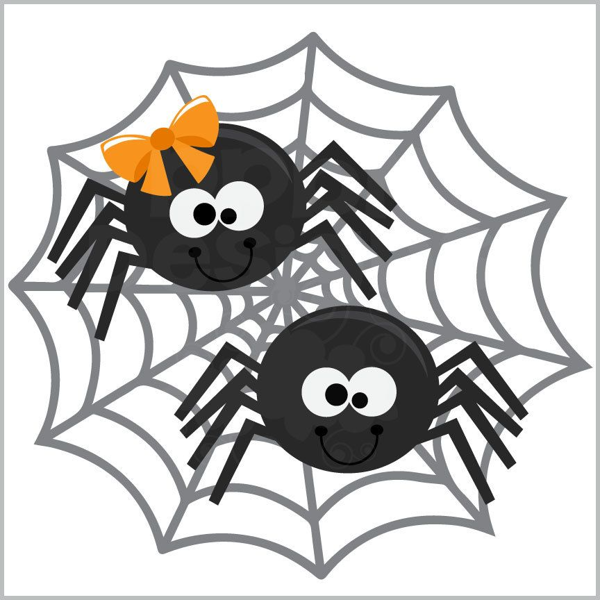 PPbN Designs   Halloween Spiders (Free For Deluxe And Basic Members), $0.00  (. Spider ClipartHappy ...