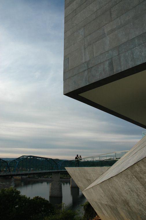 Chattanooga Museum Chattanooga Usa By Randall Stout Architecture Zinc Museum Quartz Zinc Plus Publicbuilding
