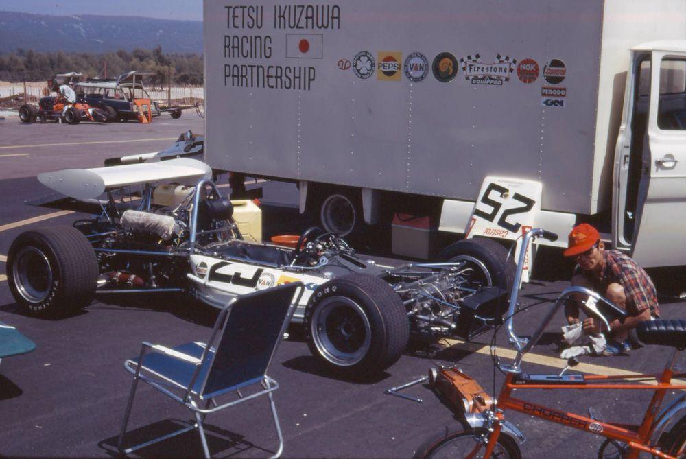 Tetsu Ikuzawa - Lotus 69 Cosworth FVA - Tetsu Ikuzawa Racing ...