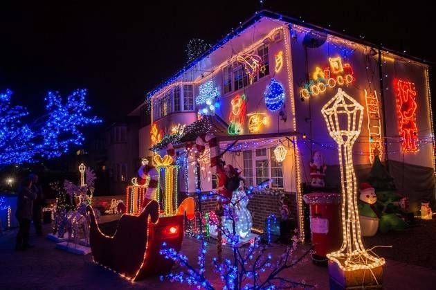 the big 6 electricity providers are set to impose a special levy on households deemed to have displays of more than 5 metres of christmas lighting this yea