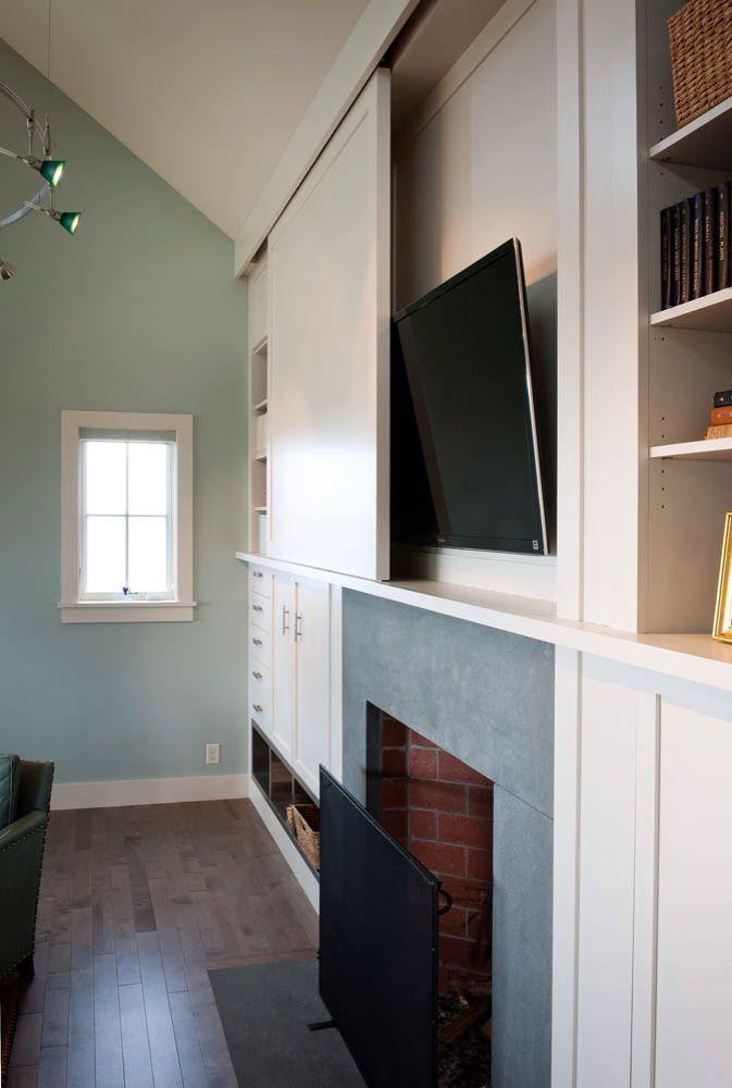 Hidden Tv Elegant Wohnung Fernseher Verstecken Wohnzimmerschranke