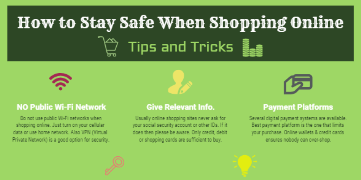 How to Stay Safe When Shopping Online (With images) | Online