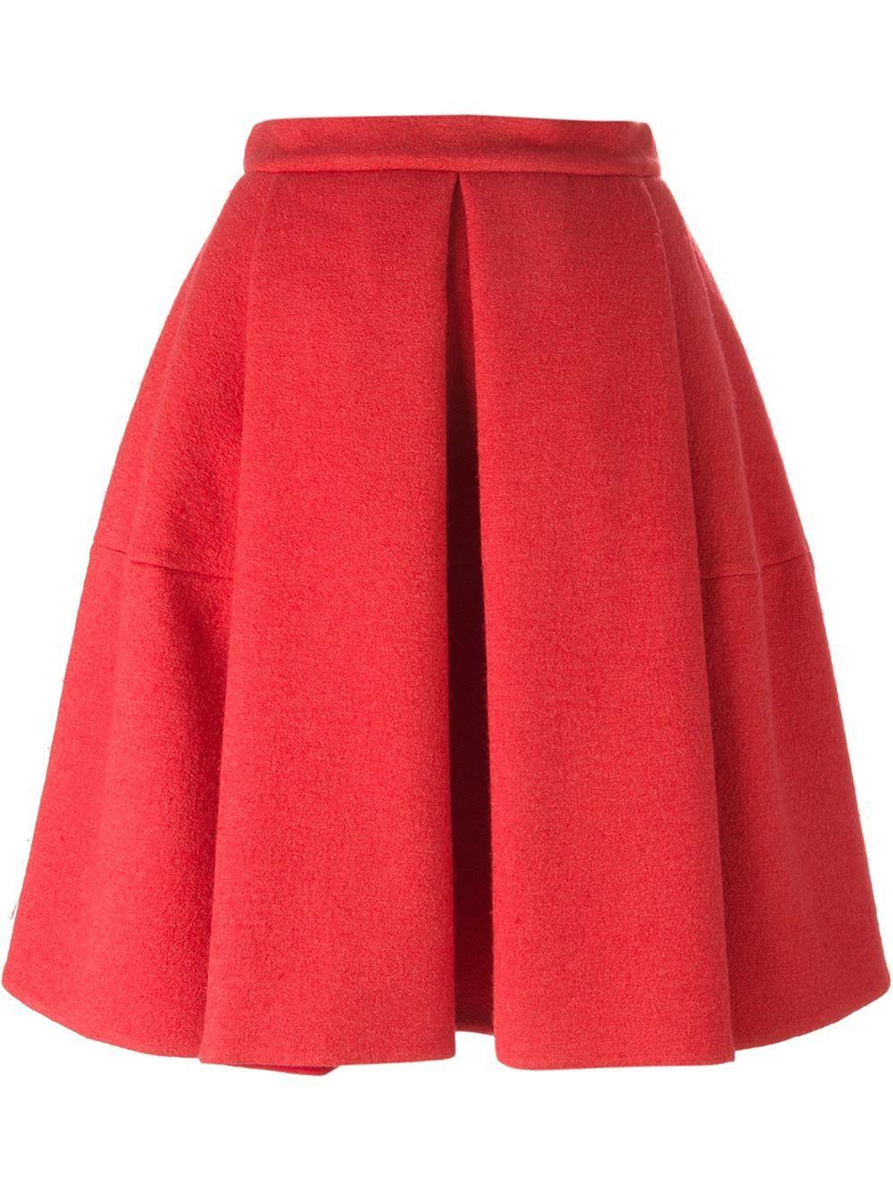 Ermanno Scervino Pleated Skirt - Russo Capri - Farfetch.com