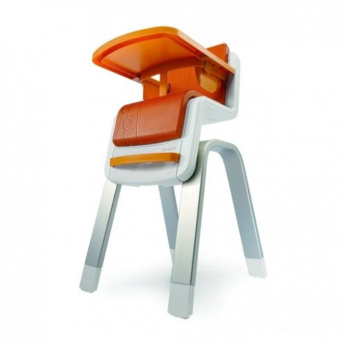 Zaaz Ergonomic Chair Steel Uk Nuna High Orange Furniture Pinterest Chairs