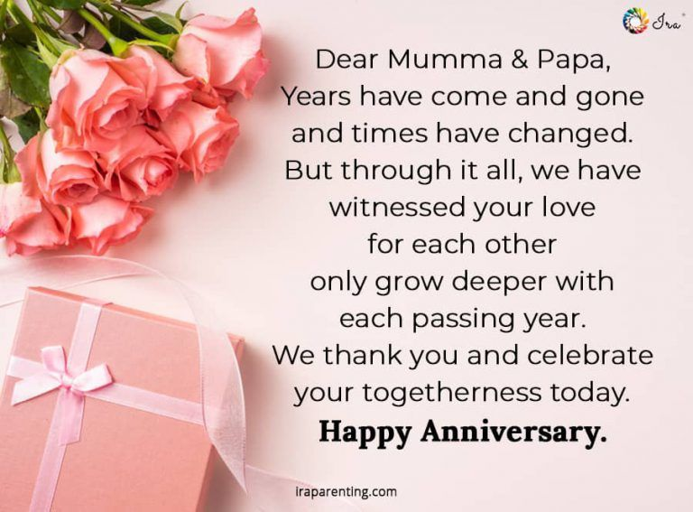 Happy Anniversary Mom Dad Quotes Wishes Cards Ira Parenting Happy Anniversary Mom Dad Happy Anniversary Mom And Dad Quotes