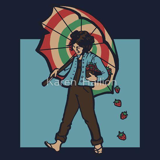 Kaylee the Morton Strawberry Girl!  http://www.redbubble.com/people/khallion/works/8666047-strawberry-girl