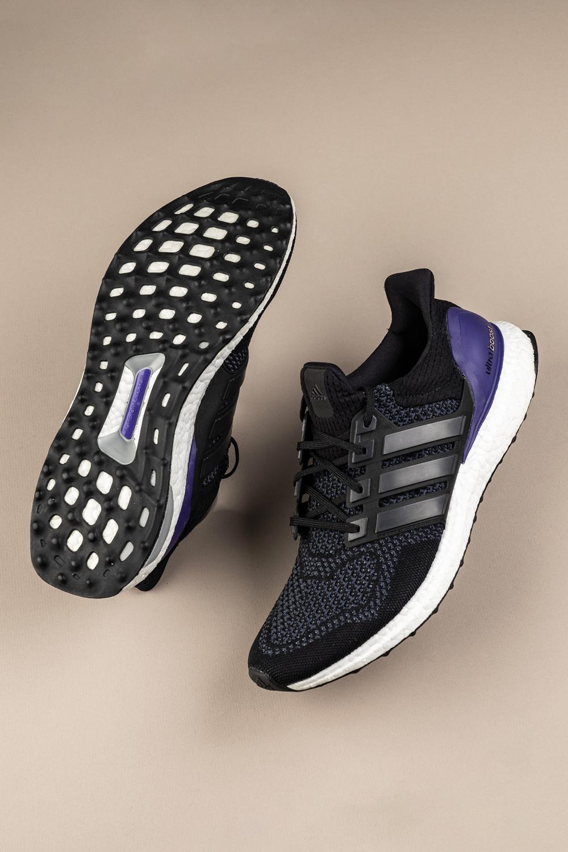 ultra boost purple heel
