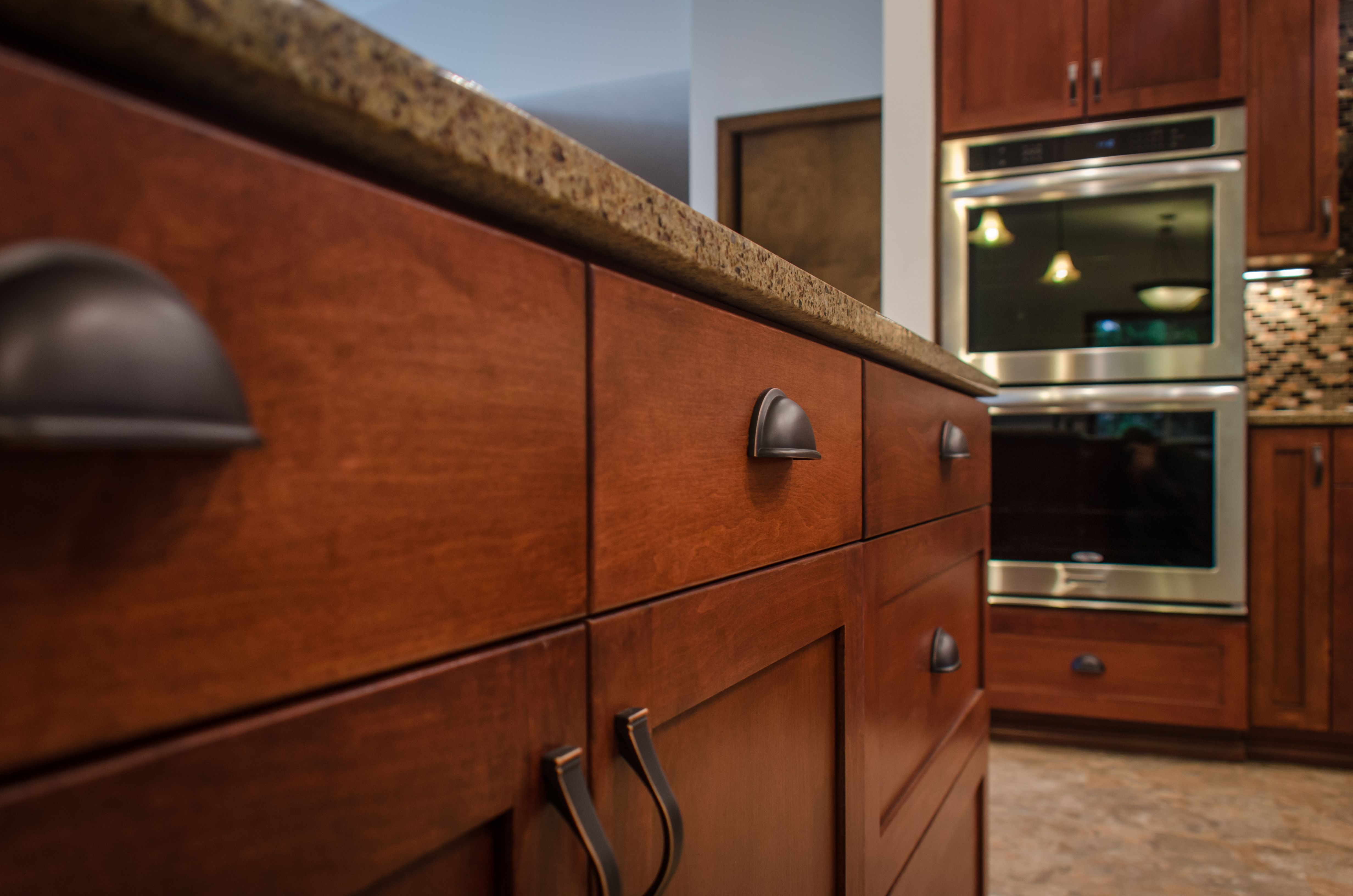 Beautiful Custom Cabinets And Dual Oven Kitchen Remodel Custom Cabinets Kitchen