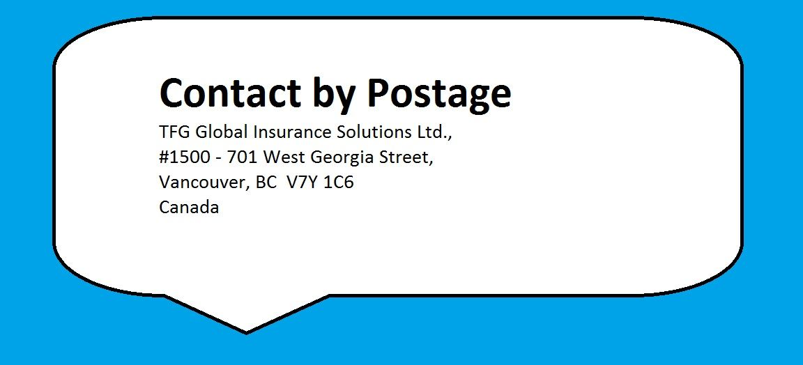 Contact By Postage Visit Http Www Travelinsuranceindia Com